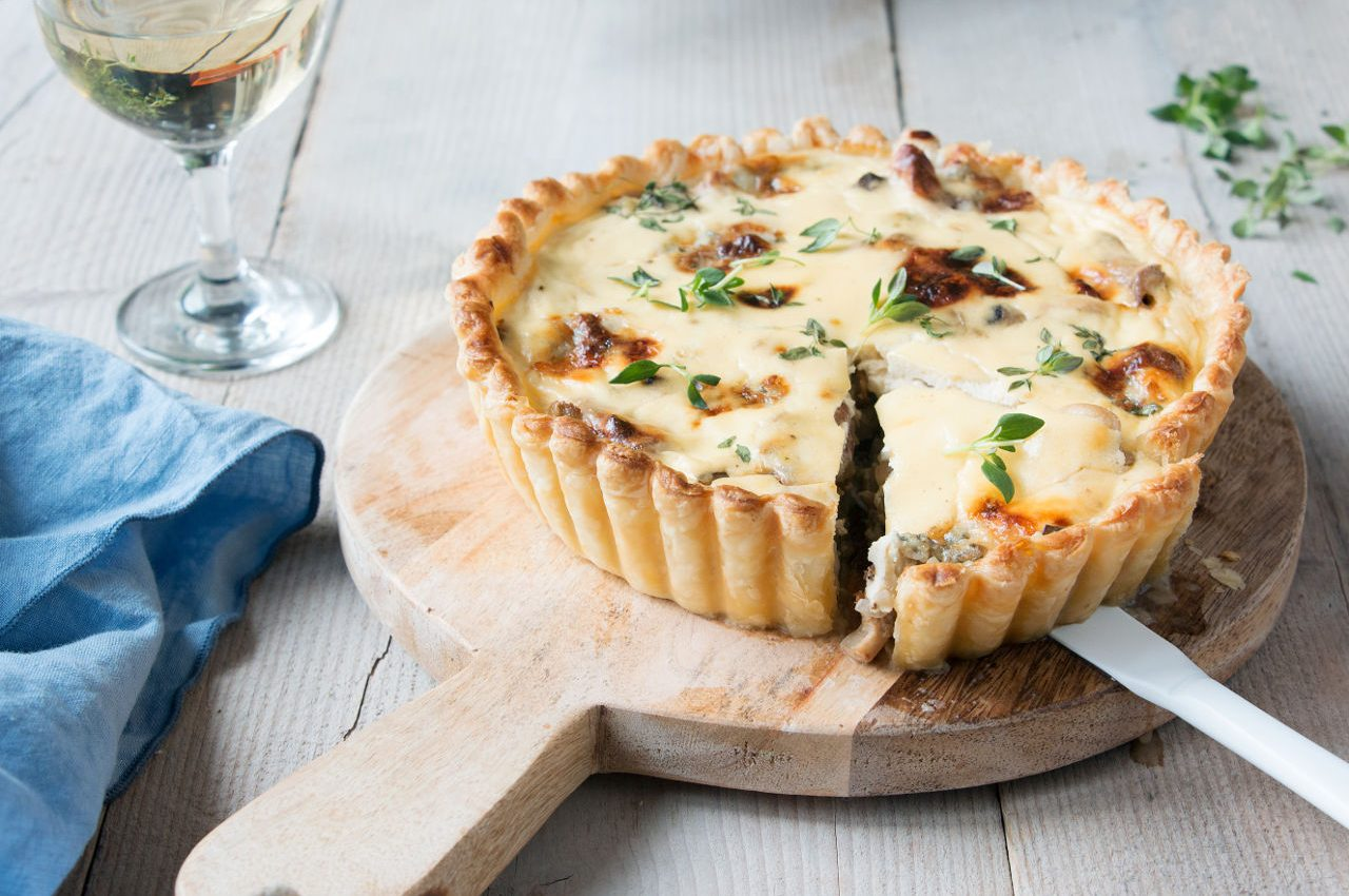 quiche-peer-gorgonzola